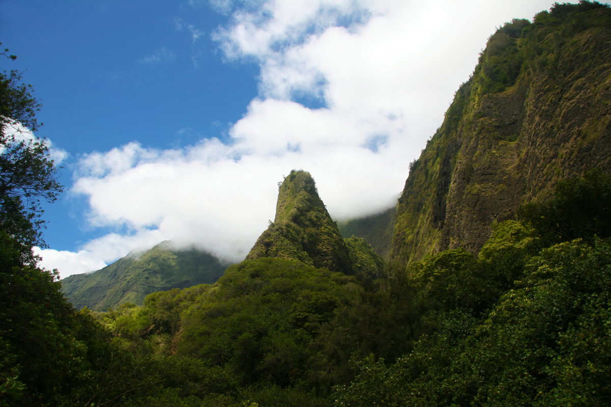 Iao Valley, Maui, Hawaii