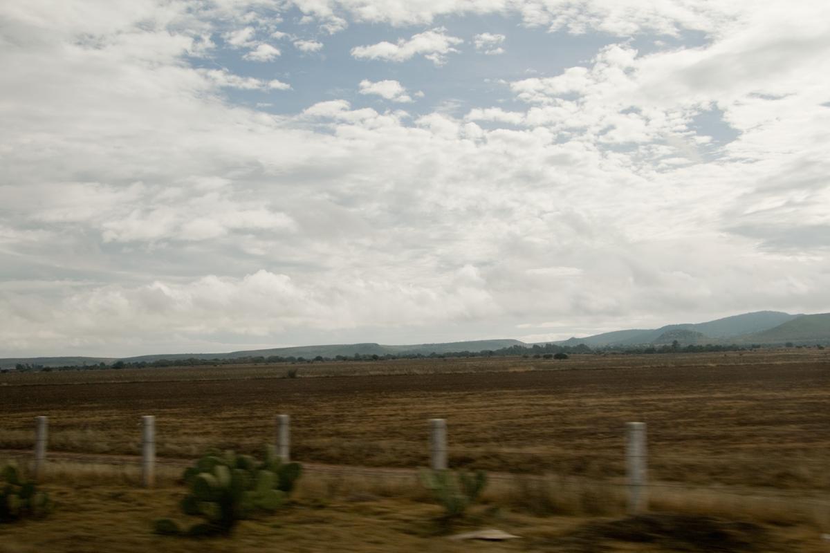 Between Guadalajara and San Luis Potosí, Mexico