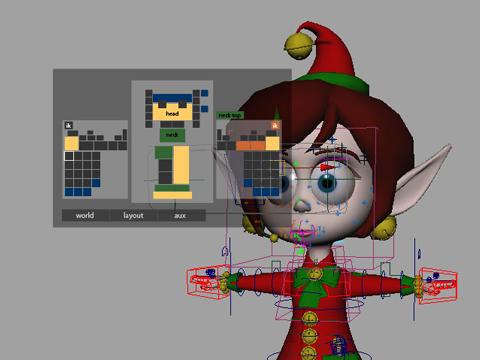 HUD for 3D Modeling